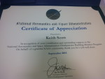 Certificate of appreciation_HQ building monitor program